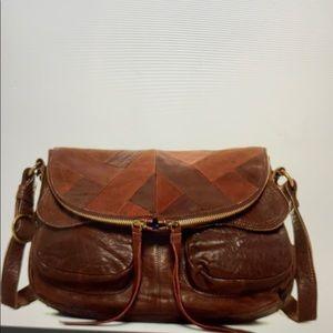 NWT Lucky brand piece train shoulder bag